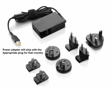 Zasilacz Lenovo ThinkPad 65W Travel AC Adapter (4X20H15596)